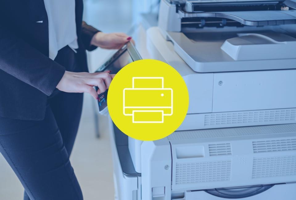 obsługa drukarki